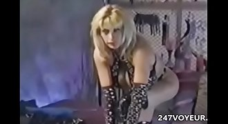 Vintage Busty Mature Stripping Masturbating Pandora Peaks
