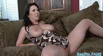 Bigtit milf spoon fucked after dicksucking
