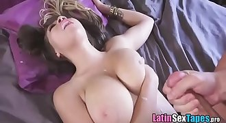 Latina Girlfriend Cassidy Banks - Cassidy Shows Off Her Real Boobs