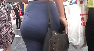 Candid Juicy White Fat Ass In Sundress