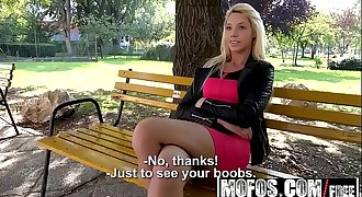 Mofos - Public Pick Ups - French Hussy Makes Bank starring Kimber Delice