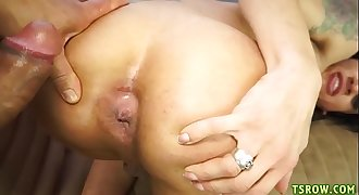Tranny Isabella Cruz Toughly Fucked Without a condom