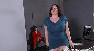 Milf Maggie Green Fucked by Two Black Sensitive